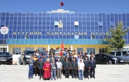 """""""Монгол цэргийн нэгдсэн холбоо""""-ны салбар холбоог Дундговь аймагт байгууллаа"""